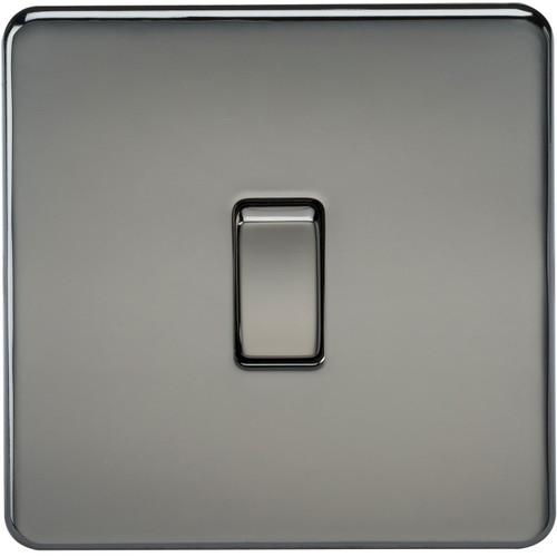 Screwless 20A 1G DP Switch - Black Nickel (DFL1SF8341BN)