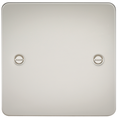 FLAT PLATE 1G BLANKING PLATE - PEARL (DFL1FP8350PL)