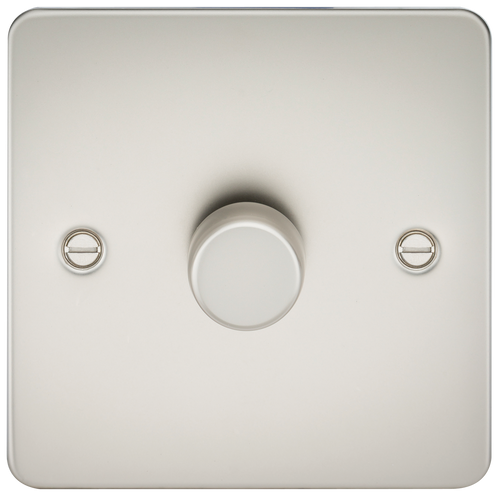 Flat Plate 1G 2 Way 10-200W (5-150W LED) Dimmer - Pearl (DFL1FP2181PL)