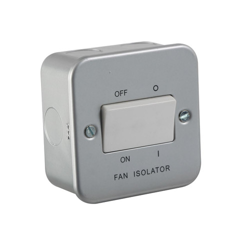 Metal Clad 10A Fan Isolator Switch (DFL1M1100)