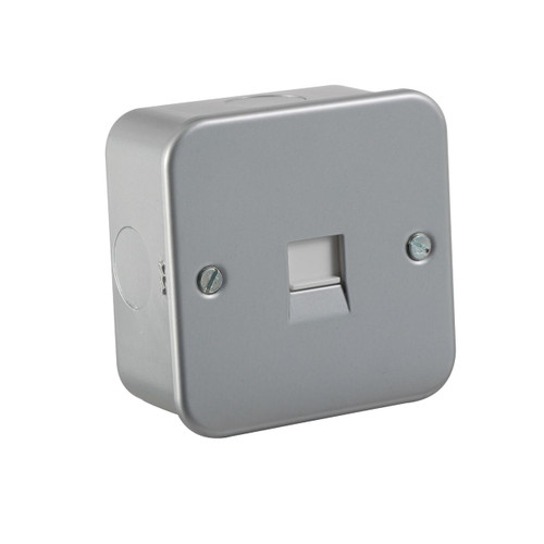 Metal Clad Telephone Extension Socket (DFL1M7400)