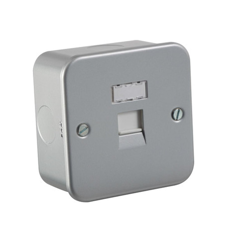 Metal Clad RJ45 Network Outlet (DFL1MRJ45)