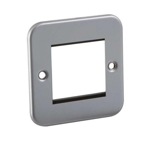 Metal Clad 2G Modular Faceplate (DFL1M2G)