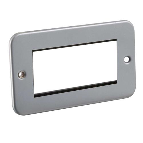 Metal Clad 4G Modular Faceplate (DFL1M4G)