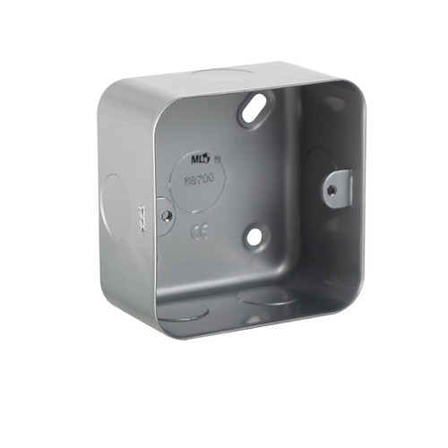 Metal Clad 1G Back Box (DFL1M8700)