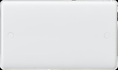 Curved edge 2G blanking plate (DFL1CU8360)