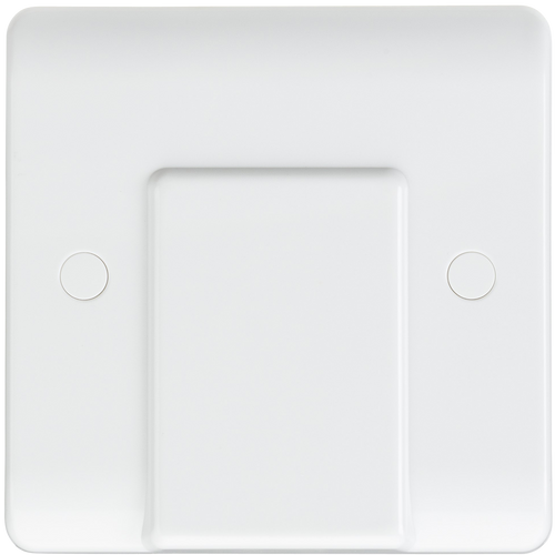 Curved edge 20A flex outlet plate (DFL1CU8342)