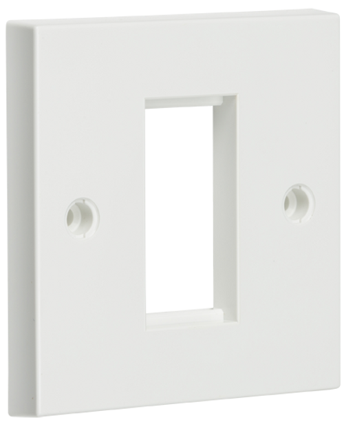 1G White Modular Faceplate (DFL1NET1GWH)