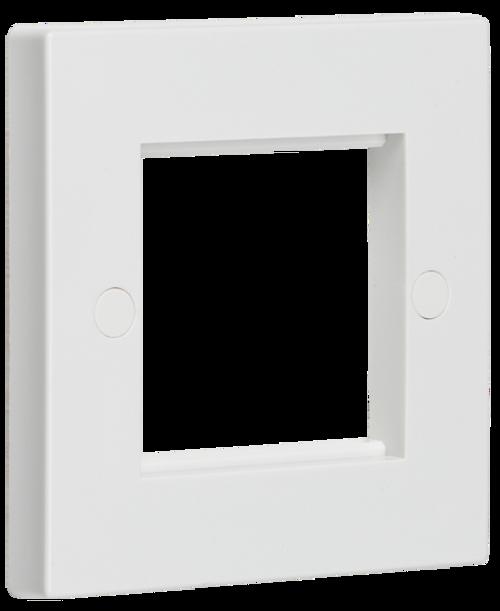 2G White Modular Faceplate (DFL1NET2GWH)
