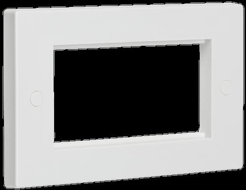 4G White Modular Faceplate (DFL1NET4GWH)