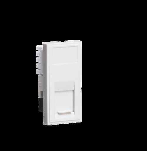 White Modular UTP CAT6 RJ45 Outlet (DFL1NETCAT6WH)