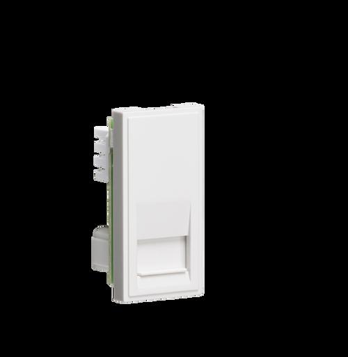 White Modular Telephone Slave Outlet IDC (DFL1NETBTSWH)