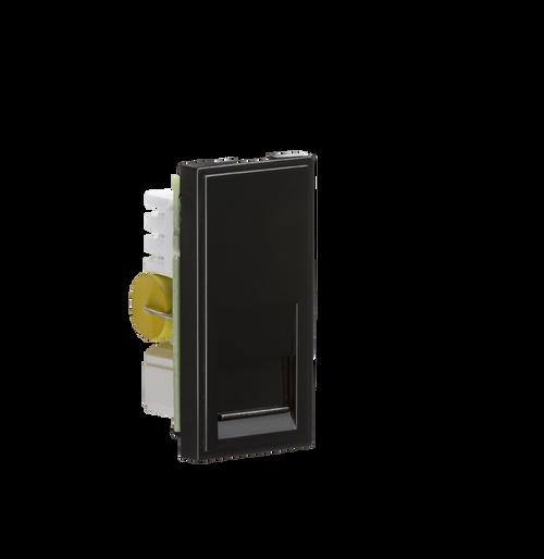 Black Modular Telephone Master Outlet IDC (DFL1NETBTMBK)