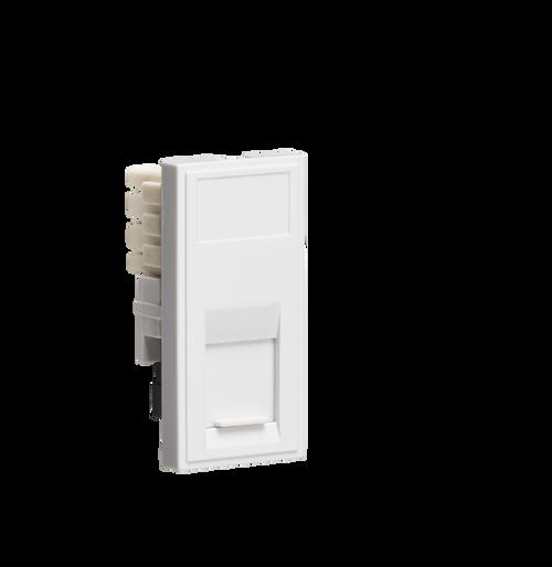 White Modular RJ11 Outlet (DFL1NETRJ11WH)