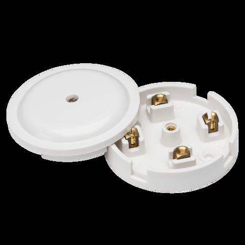 20A JUNCTION BOX 4 TERM WHITE [2-1/4DIA] (DFL1SN8420)