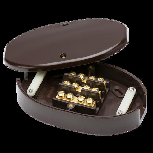 60A JUNCTION BOX 3 TERM BROWN 25.0mm (DFL1SN8470B)