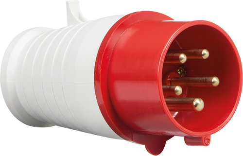415V IP44 16A Plug 3P+N+E (DFL1IN0014)