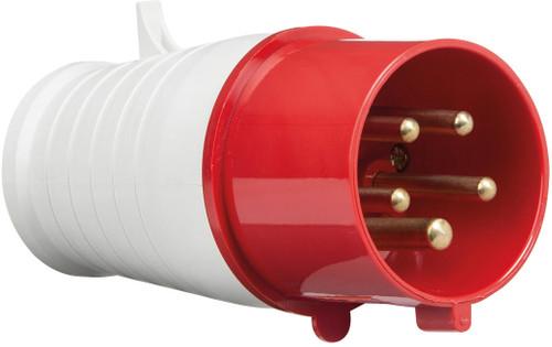 415V IP44 32A Plug 3P+N+E (DFL1IN0016)