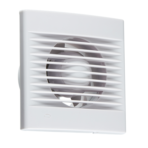 "100MM/4""  Extractor Fan with Overrun Timer (DFL1EX001T)"