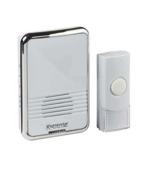 White Wireless Plug-in Door Chime (80m range) (DFL1DC003)