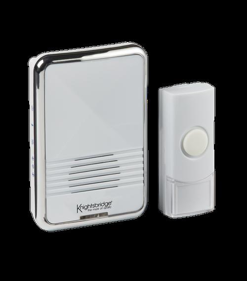 White Wireless Plug-in Door Chime (80m range) (DFL1DC003)