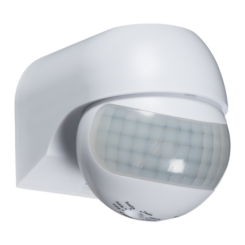 IP44 180° Mini PIR Sensor - White (DFL1OS0014)