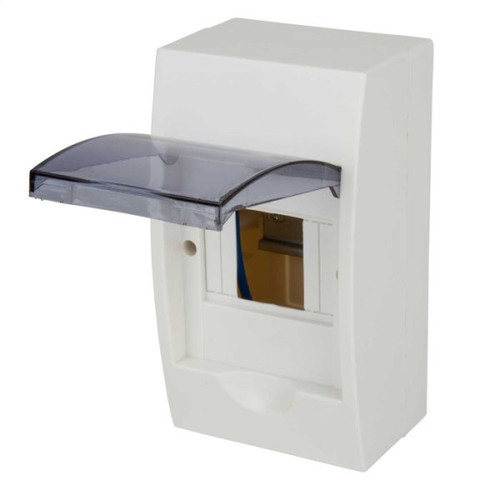 4 Way Insulated IP50 Enclosure with Lid (DFL3ECU04)