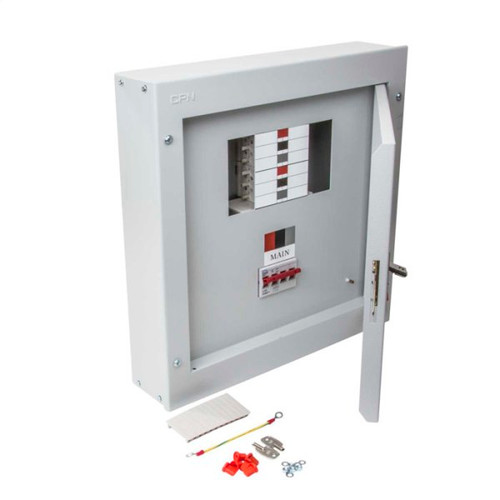 4 Way TP+N Type B Distribution Board with 125A Incomer (DFL3DB04125)
