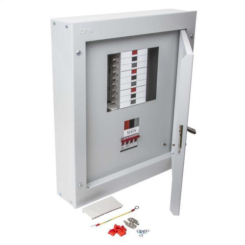 6 Way TP+N Type B Distribution Board with 125A Incomer (DFL3DB06125)