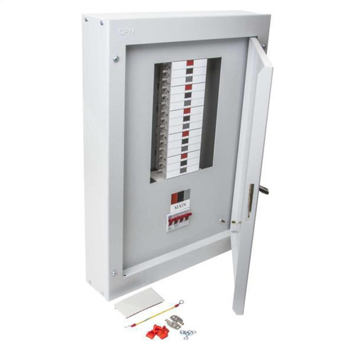 8 Way TP+N Type B Distribution Board with 125A Incomer (DFL3DB08125)