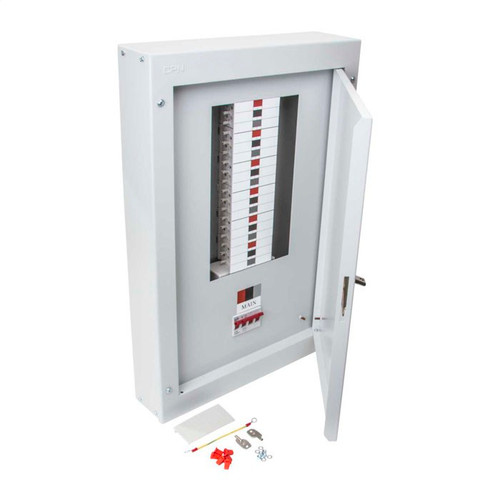 10 Way TP+N Type B Distribution Board with 125A Incomer (DFL3DB10125)