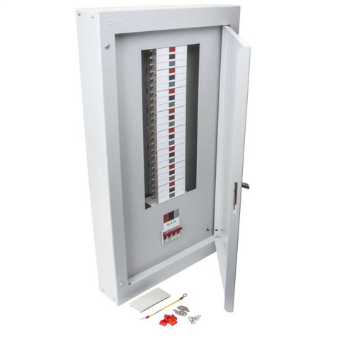 16 Way TP+N Type B Distribution Board with 125A Incomer (DFL3DB16125)
