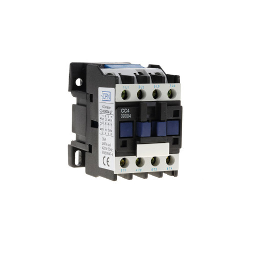 9A 4P Contactor 2 NO/2 NC 240V Coil (DFL3CC409008U7)