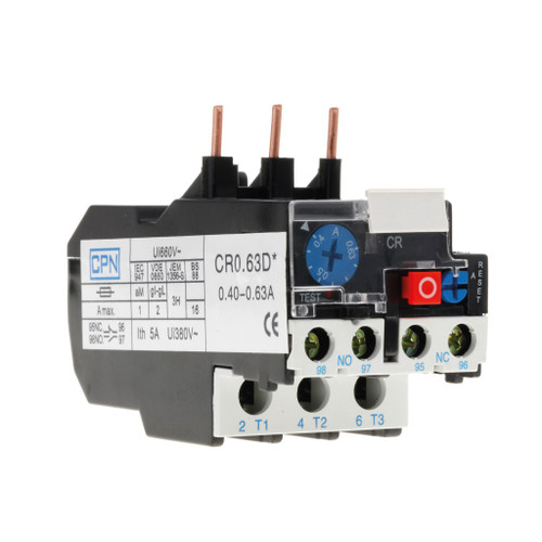 0.40-0.63A Overload Relay (DFL3CR0.63D)