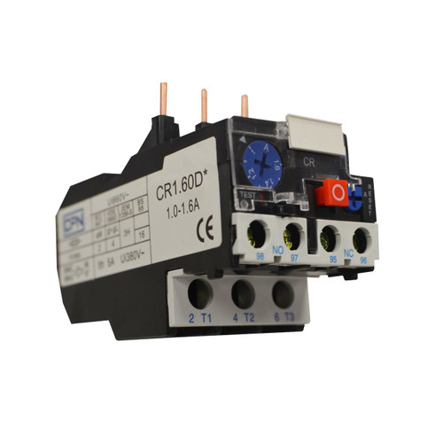 1.0-1.6A Overload Relay (DFL3CR1.60D)
