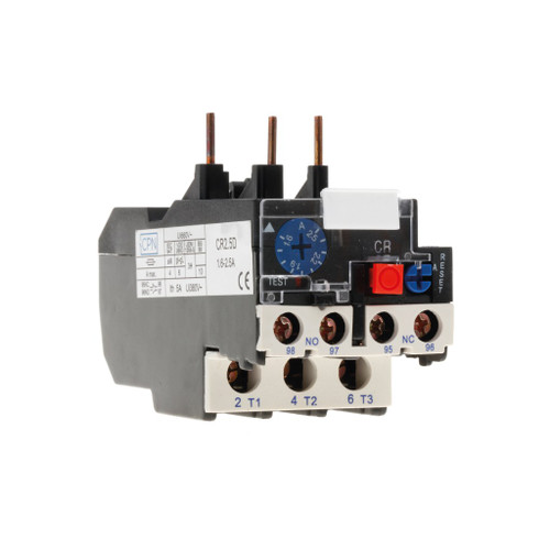 1.6-2.5A Overload Relay (DFL3CR2.50D)