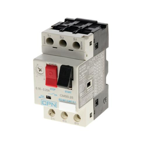 Manual Motor Starter 0.16-0.25A (DFL3CMS0.25)