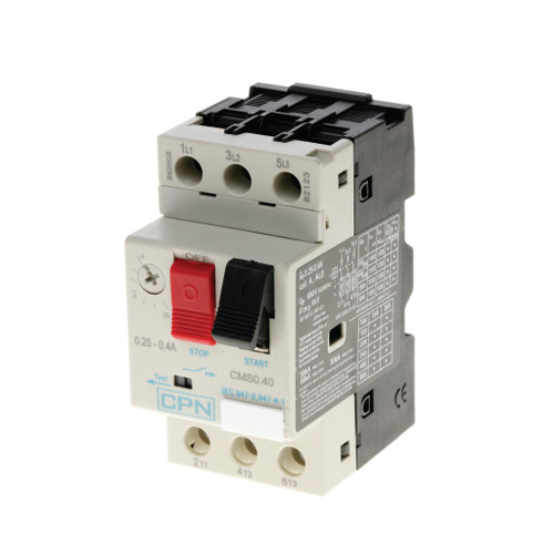 Manual Motor Starter 0.25-0.40A (DFL3CMS0.40)