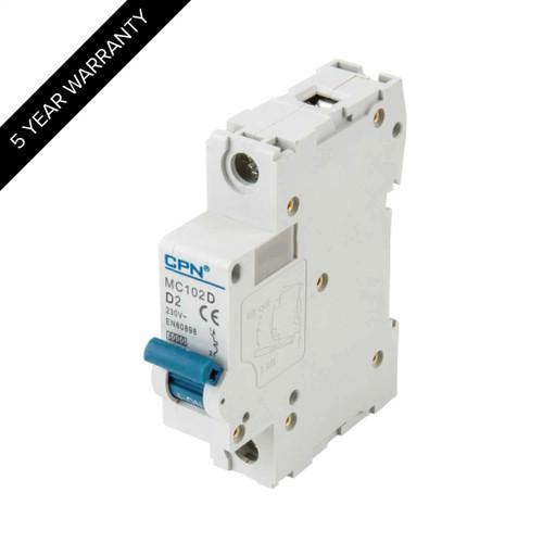 2A 1P 6kA Type D MC MCB (DFL3MC102D)
