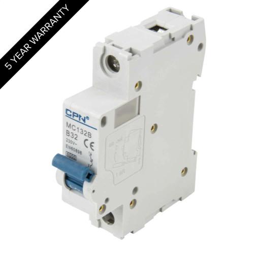 32A 1P 6kA Type B MC MCB (DFL3MC132B)