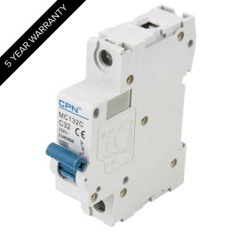 32A 1P 6kA Type C MC MCB (DFL3MC132C)