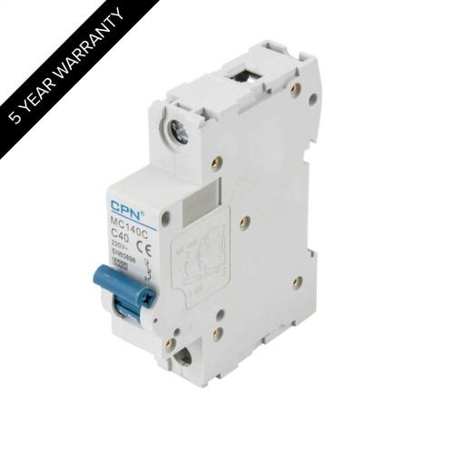 40A 1P 6kA Type C MC MCB (DFL3MC140C)