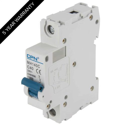 40A 1P 10kA Type C MH MCB (DFL3MH140C)