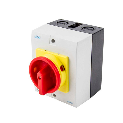 25A 3P AC Isolator Enclosed (DFL3GR325)