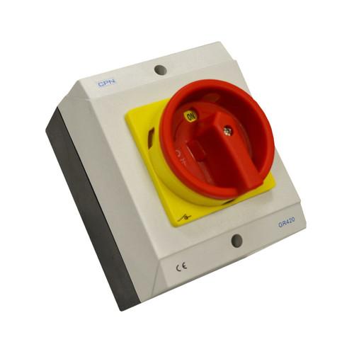 20A 4P AC Isolator Enclosed (DFL3GR420)