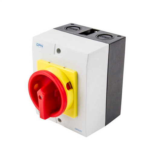 25A 4P AC Isolator Enclosed (DFL3GR425)