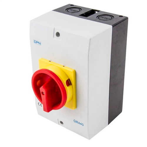 40A 4P AC Isolator Enclosed (DFL3GR440)