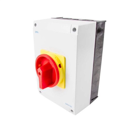 100A 4P AC Isolator Enclosed (DFL3GR4100)