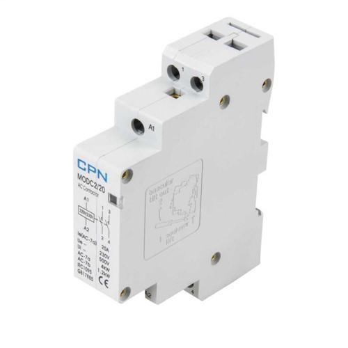 2P 20A Modular Contactor c/w Spacer (DFL3MODC220)