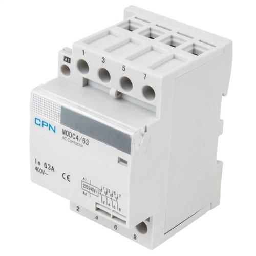 4P 63A 3 Modular Contactor (DFL3MODC463)